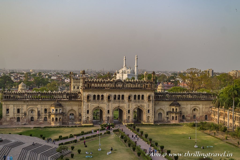 The 2nd entrance to Bara Imambara as seen from the roof of Bhool Bhulaiya