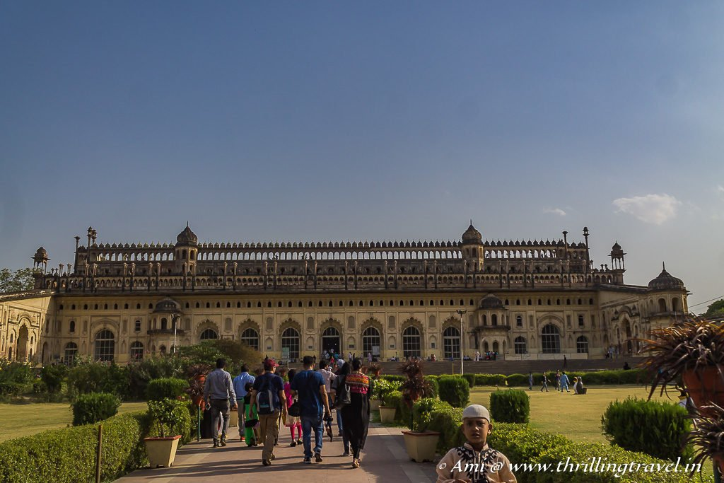The Bara Imambara with the Bhool Bhulaiya
