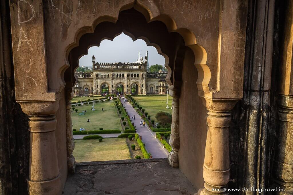 The scenic jharokhas of Bara Imambara, Lucknow