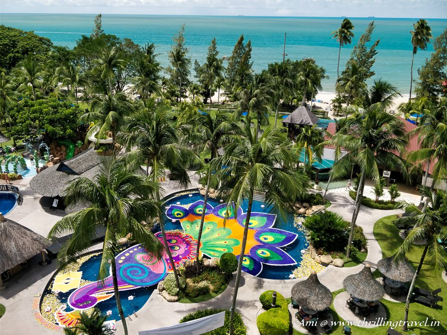 Golden Sands Resort by the Beach in Penang