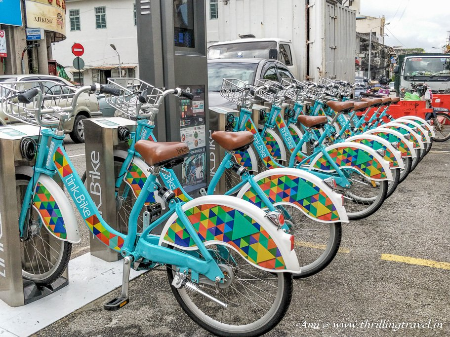 Malaysia Travel Guide to local Transport - Hiring Bicycles