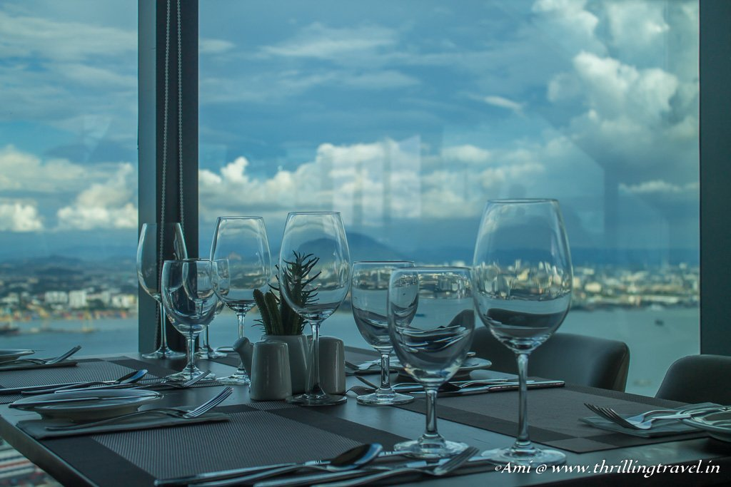 The Top restaurant for Fine Dining at Komtar Penang