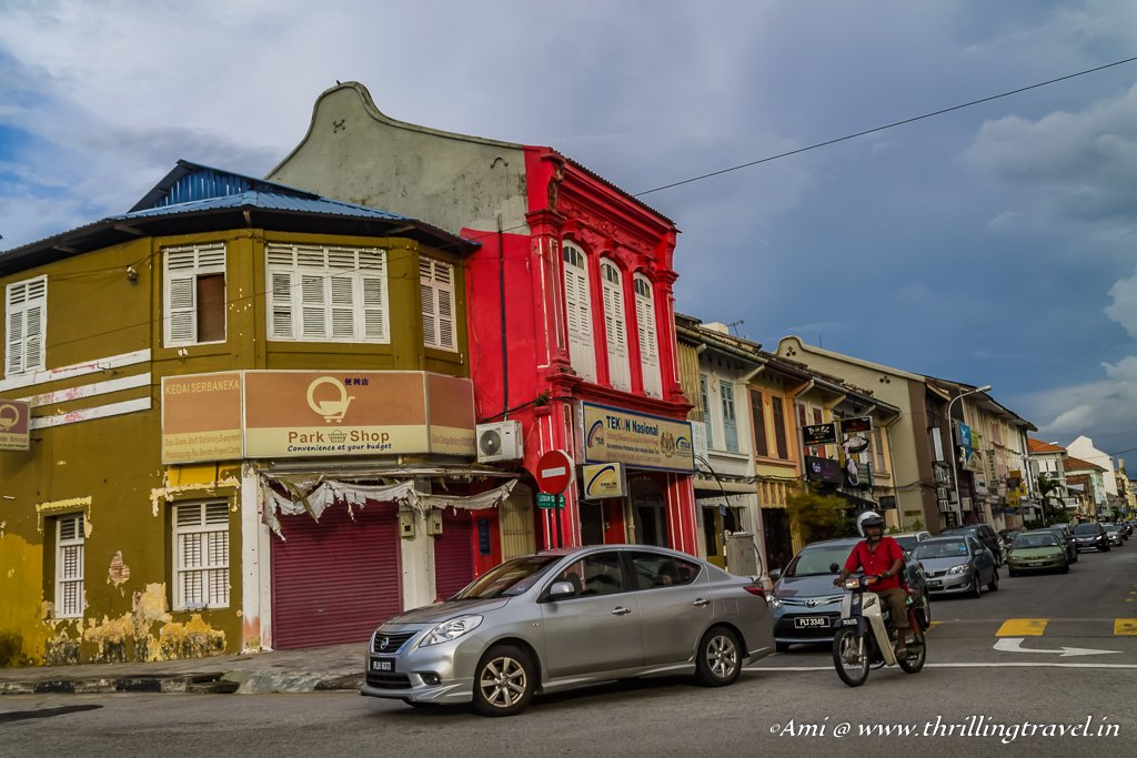 The Street of Harmony in George Town, Penang
