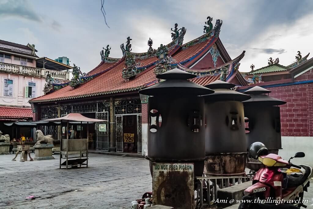 Goddess of Mercy temple, Street of Harmony, Penang