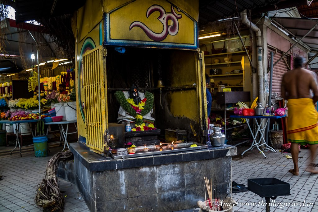 The Small Shrine of Ganesha on Street of Harmony, George Town, Penang