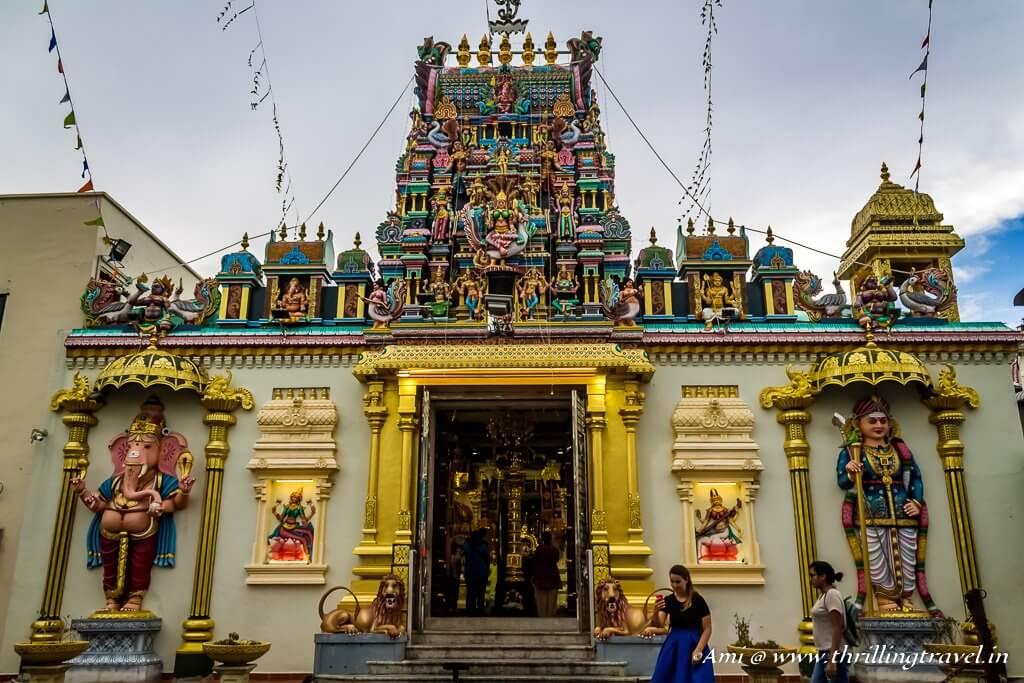 Shri Mahamariamman temple, Street of Harmony