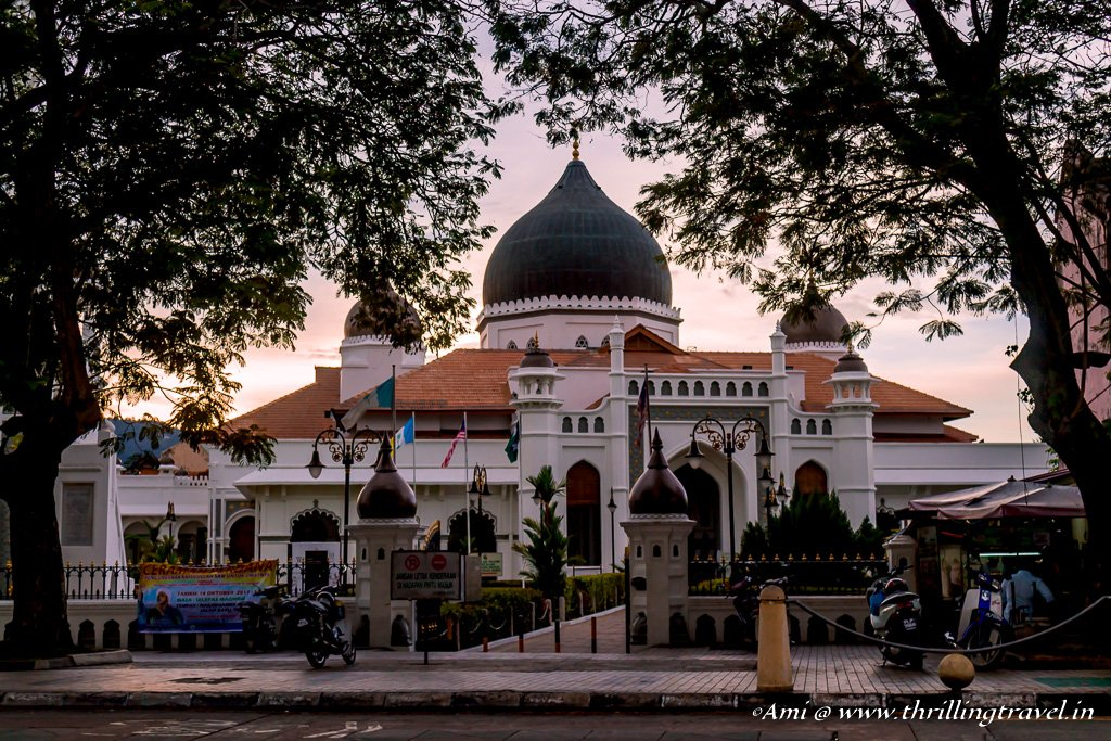 Kapitan Keling Mosque on Street of Harmony, Penang