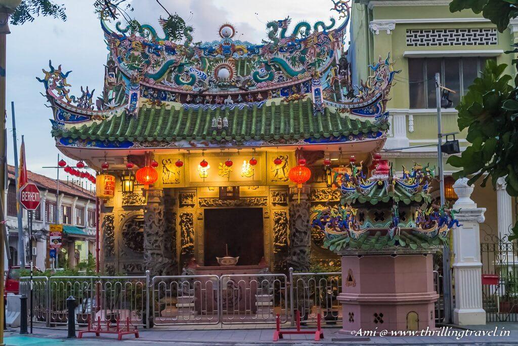 Yap temple, Penang