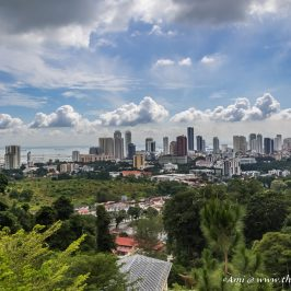 View of Penang from the Waterfall temple