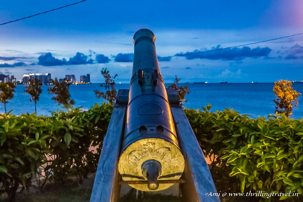 Sri Rambai Cannon at Fort Cornwallis in Penang