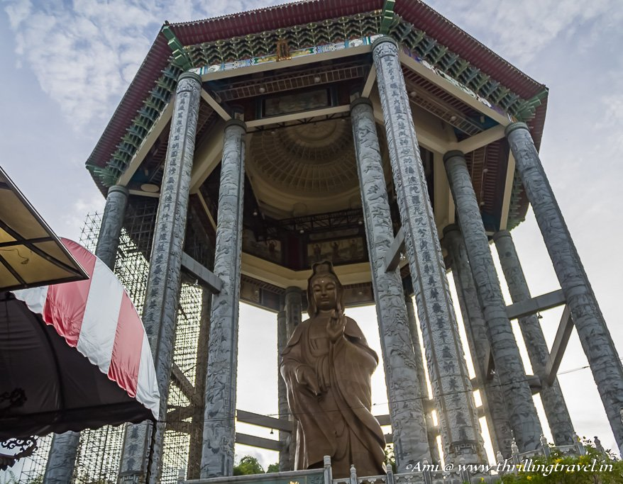 Kek Lok Si temple - one of the things to do in Penang