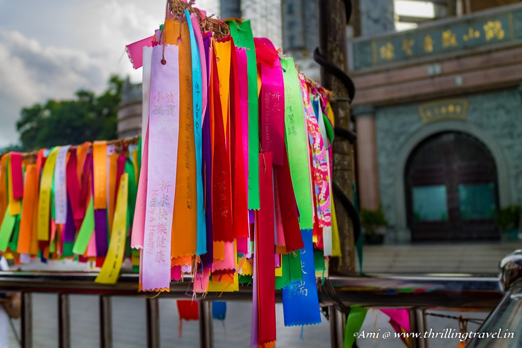 Wishing Ribbons at Kek Lok Si Temple