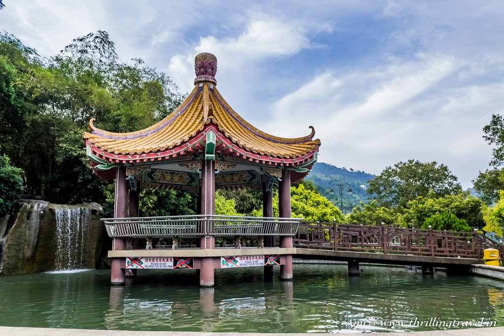 Chinese Pavilion at Kek Lok Si Temple