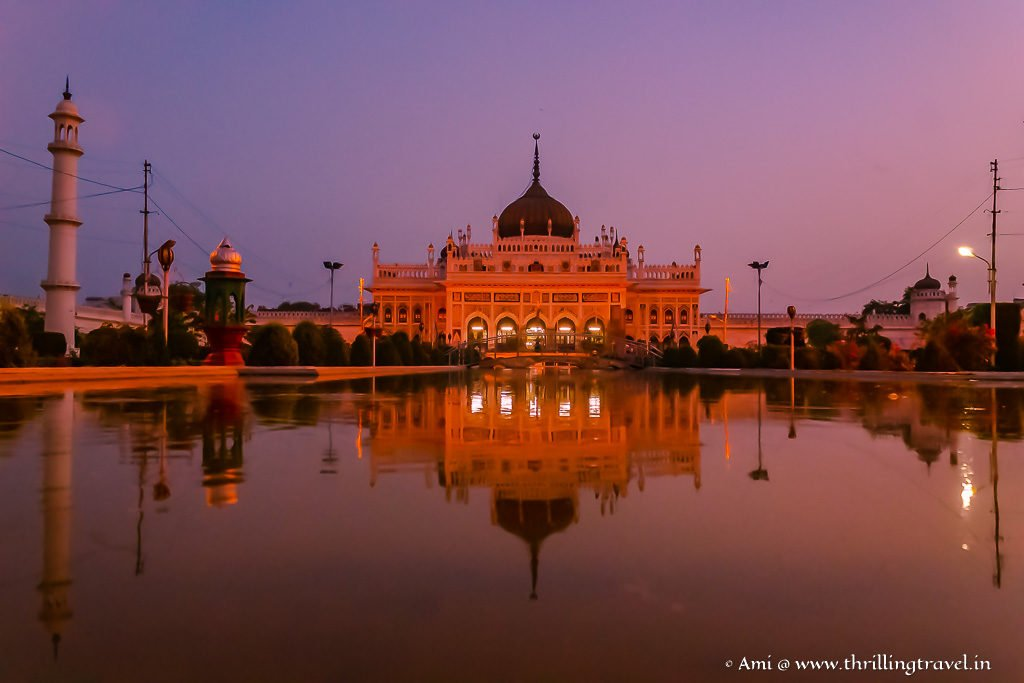 The Nawabi Palace of Lights - Chota Imambara in Lucknow
