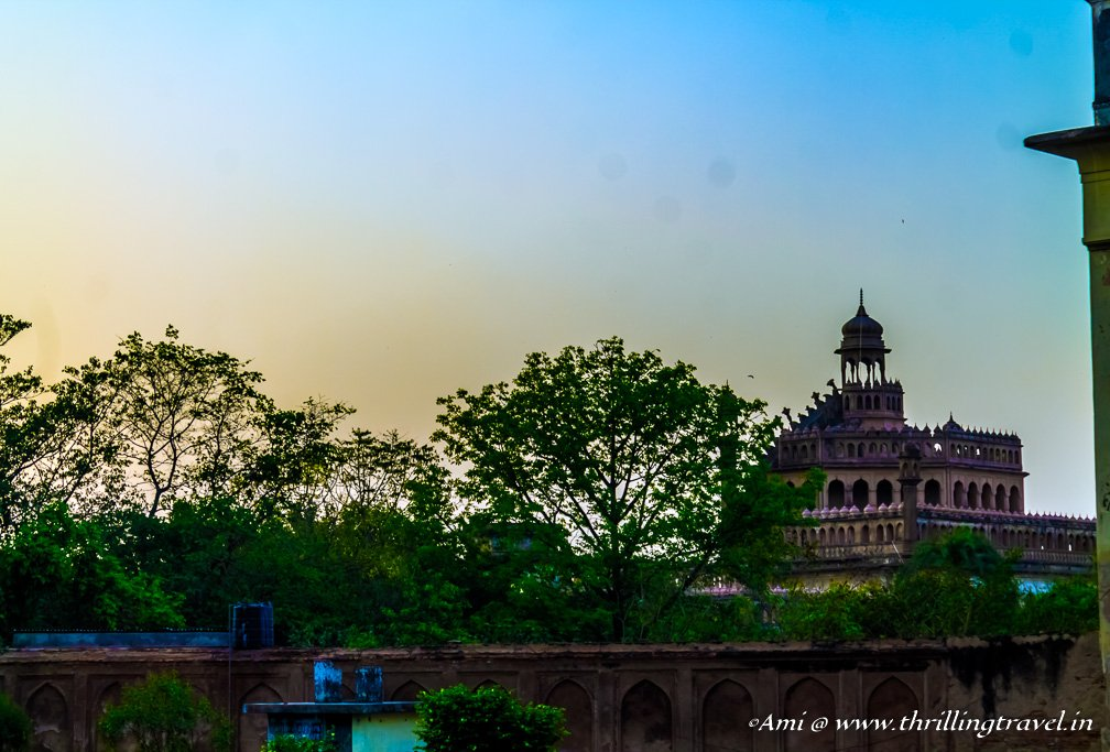Rumi Darwaza as seen from the roof of Bara Imambara, Lucknow
