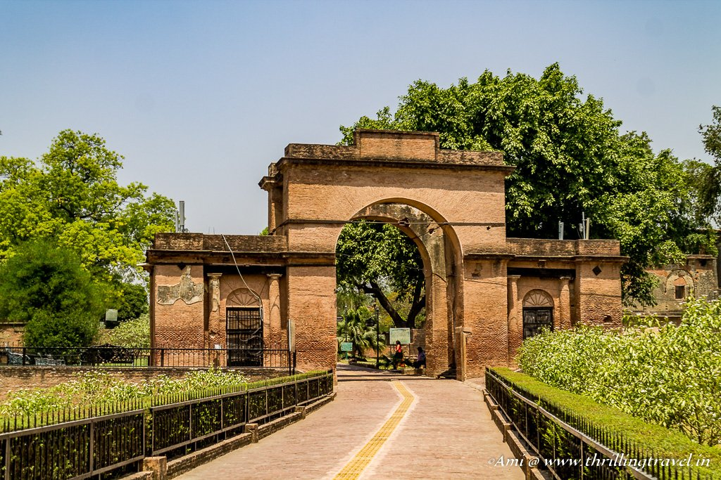 The Baillie Gate of The Residency Lucknow