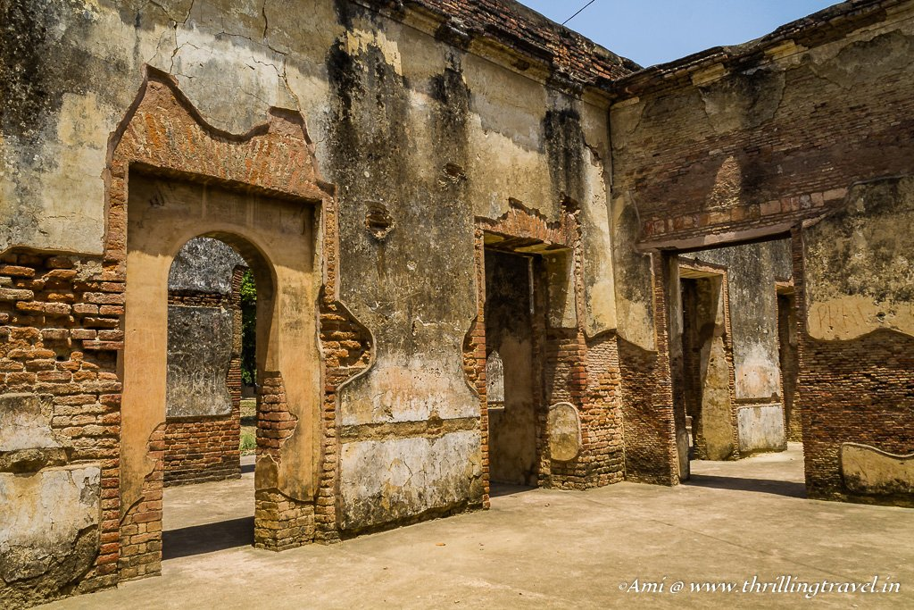 Inside Begum's Kothi at The Residency Lucknow