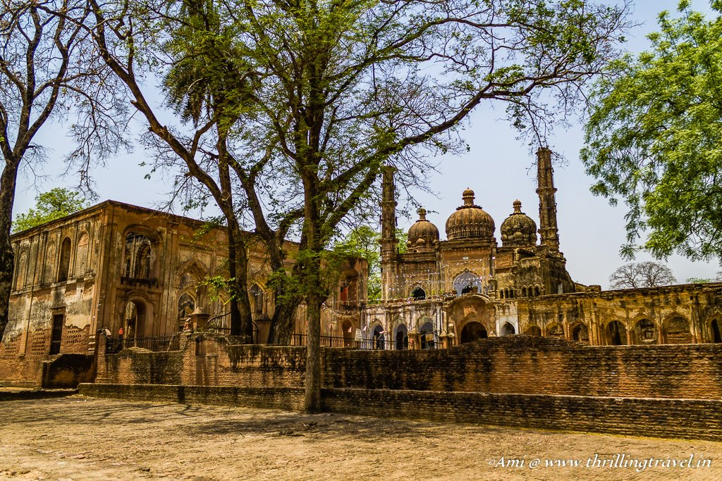 The Mosque and the Imambara at The Residency Lucknow
