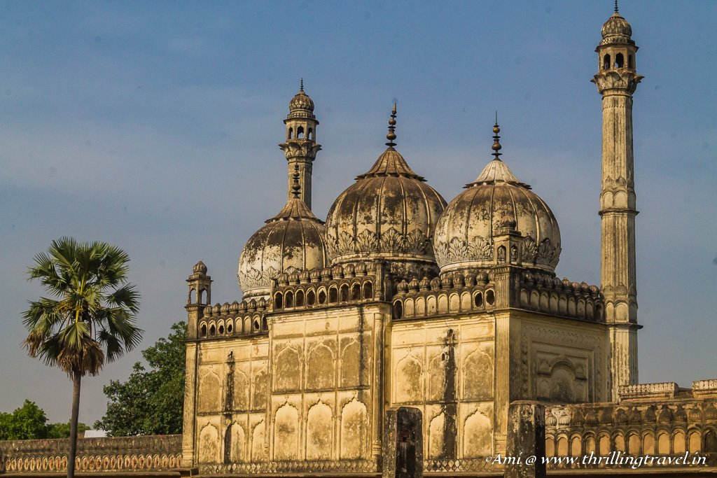 The mosque at Gulab Bari in Faizabad