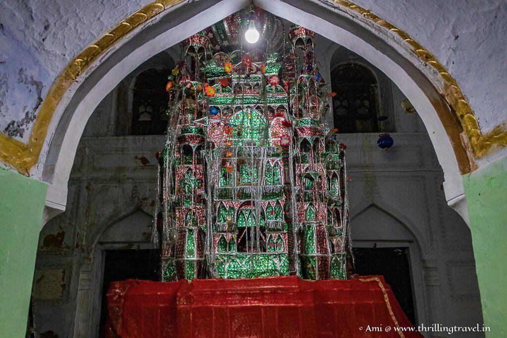 The Tazia at the Chota Imambara