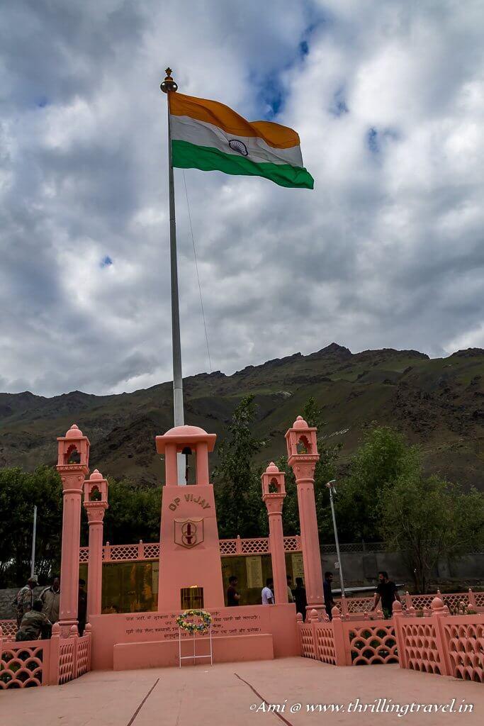 Amar Jawan Jyoti at Kargil War Memorial