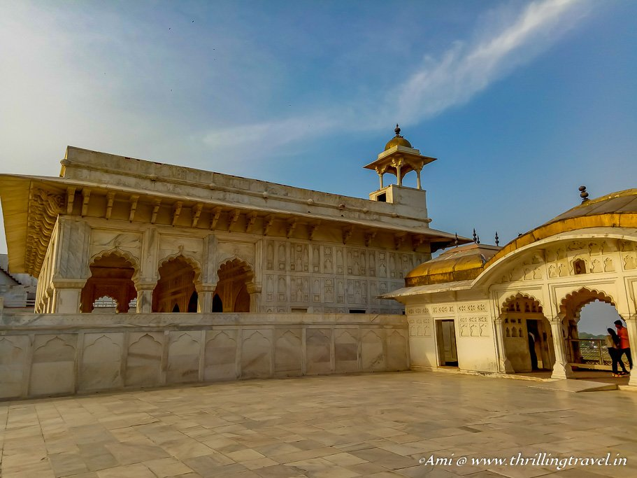 Khas Mahal in Agra Fort