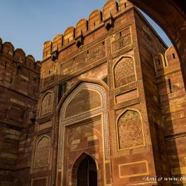 Amar Singh Gate at Agra Fort