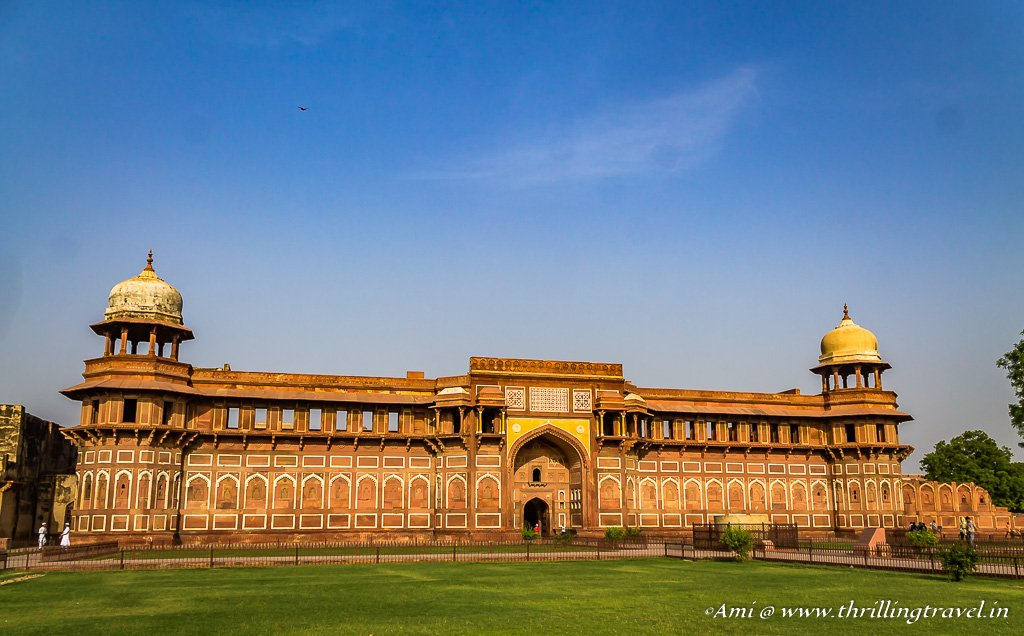 Jahangari Mahal at Agra Fort