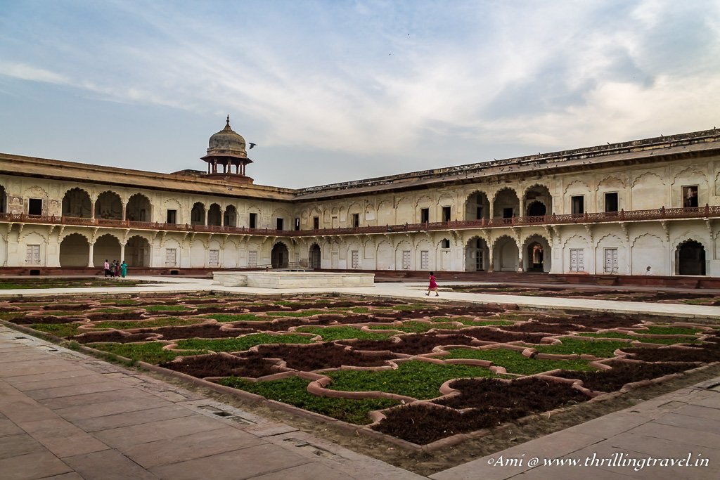 Anguri Bagh at Agra Fort
