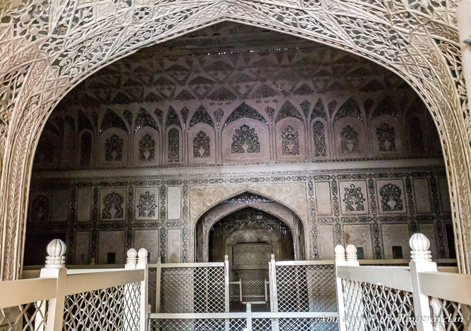 Shish Mahal of Agra Fort