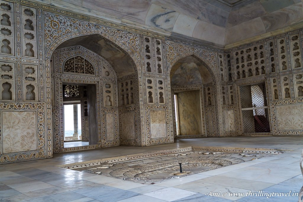 Musamman Burj, the gilted prison of Shah Jahan