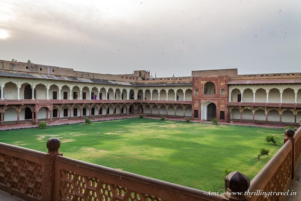 Macchi Bhavan in Agra Fort