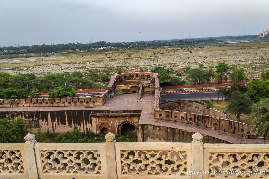 Yamuna Gate of Agra Fort