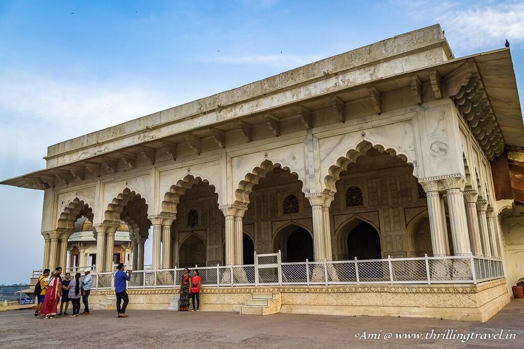 Diwan-i-Khas of Agra Fort