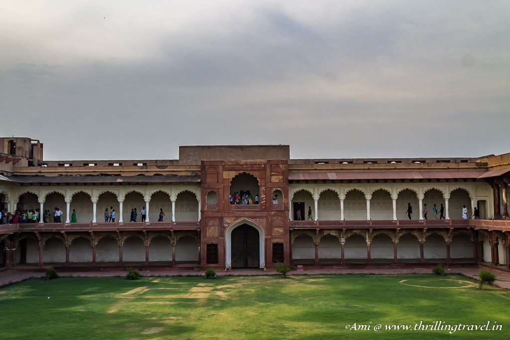 Gate leading to the Zenana Area of Agra Fort