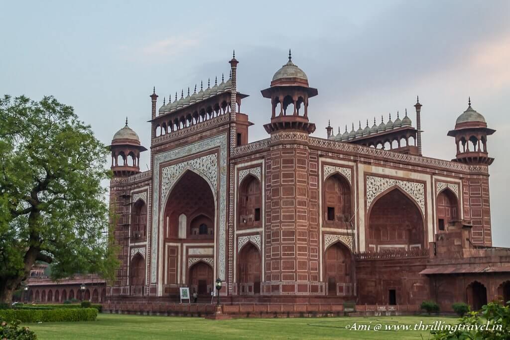 Darwaza-i-Rauza of Taj Mahal
