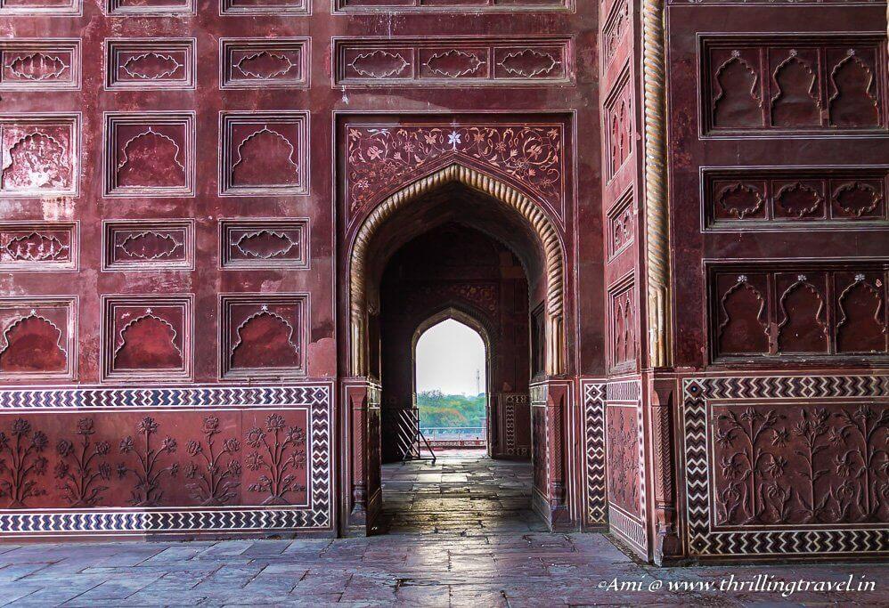 Inside the Mihmaan Khana