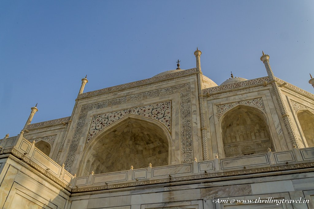The main mausoleum at the Taj