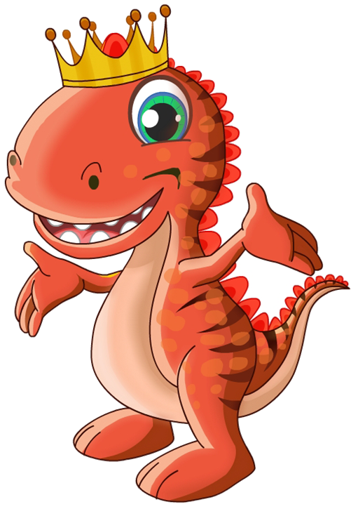 Raja Rex - the mascot of Sterling Holidays