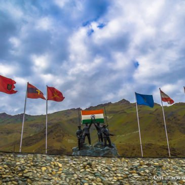 Saluting the Heroes at Kargil War Memorial at Drass