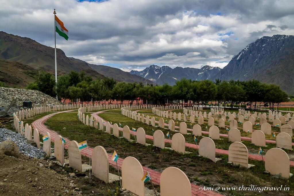 Veer Bhumi at Kargil War Memorial