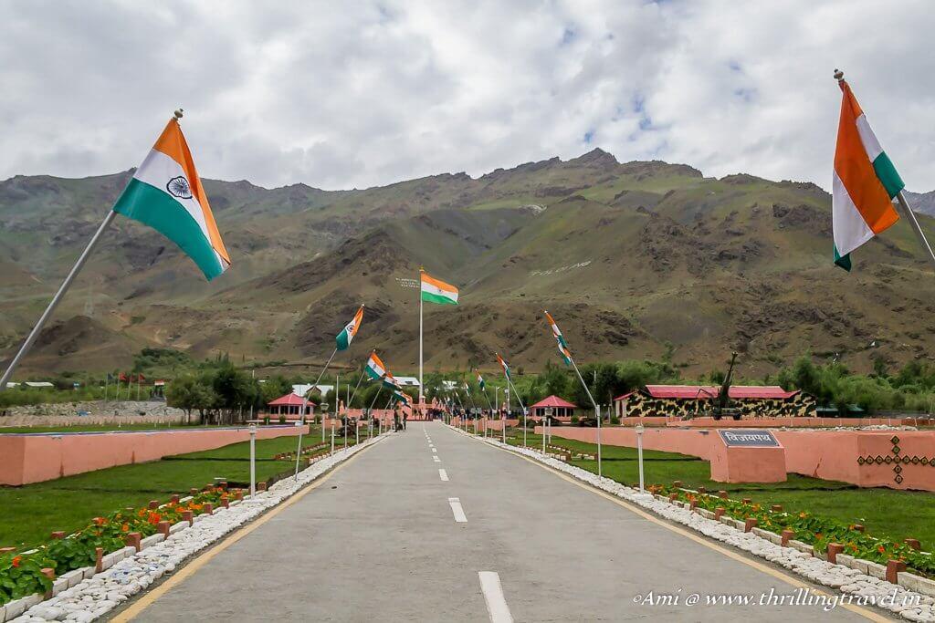 Vijay Path at Kargil War Memorial