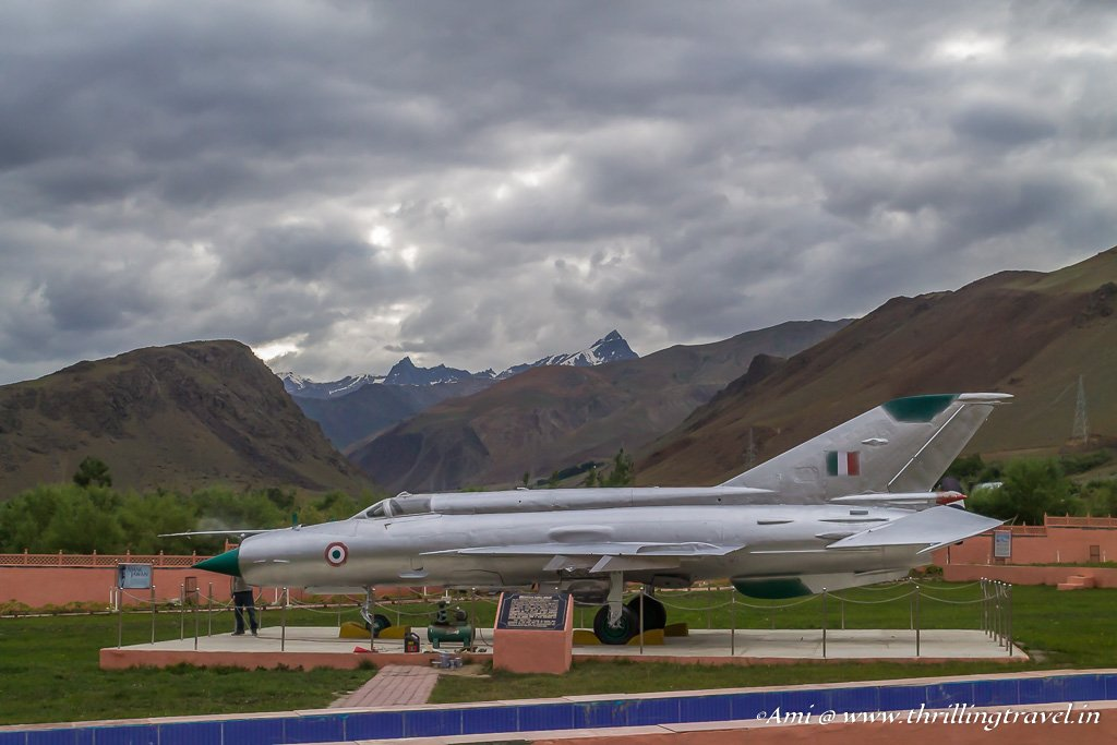 War Plane used during the Kargil War
