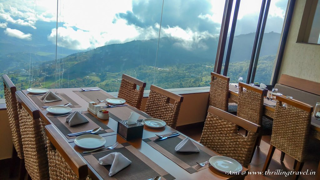 Breakfast with a view at Nagarkot