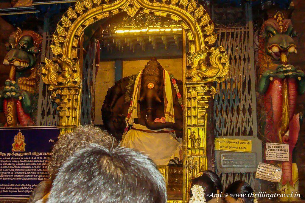 Ganesha Shrine in Meenakshi Temple