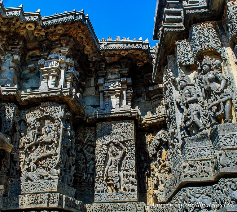 Stories etched on stone at Hoyasaleswara temple of Halebid