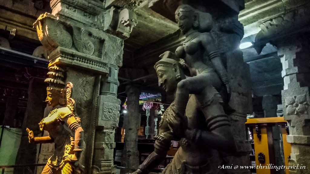 Hall of 1000 pillar at Madurai Meenakshi Temple