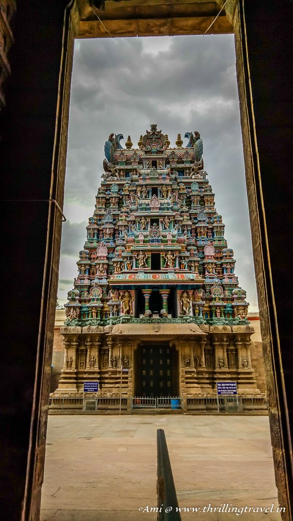 Inner Gopuram of Meenakshi temple