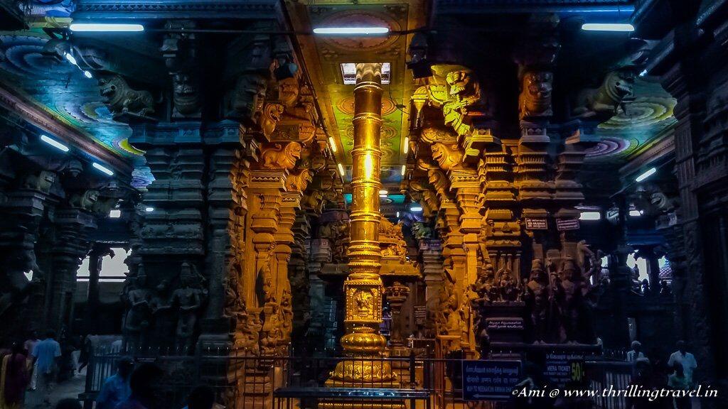 Kambatadi Mandapam at Meenakshi Temple (2)