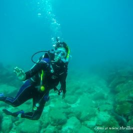 Knowledge of swimming is a must for Scuba Diving